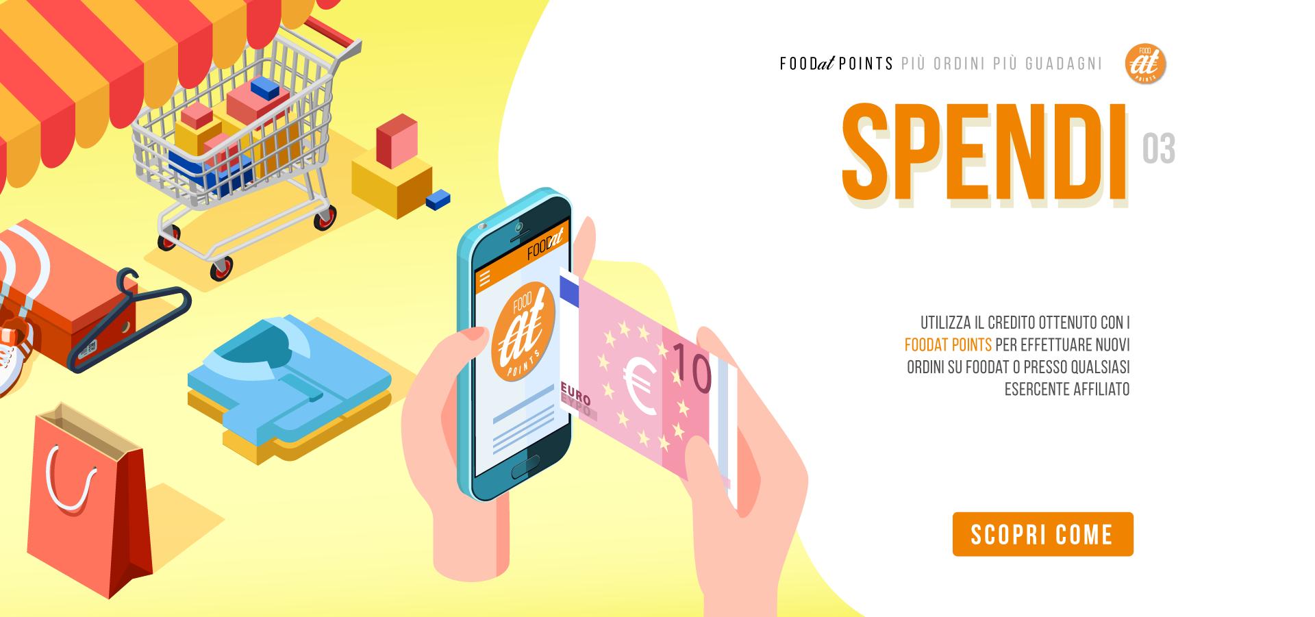 03 SPENDI – foodat points